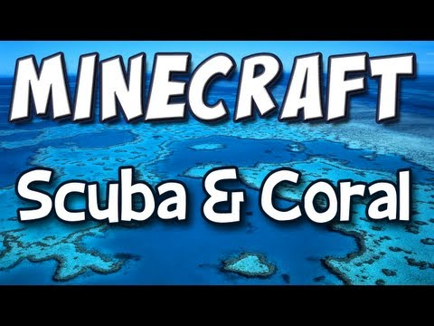 Minecraft - Mod Spotlight - Coral and Scuba Diving
