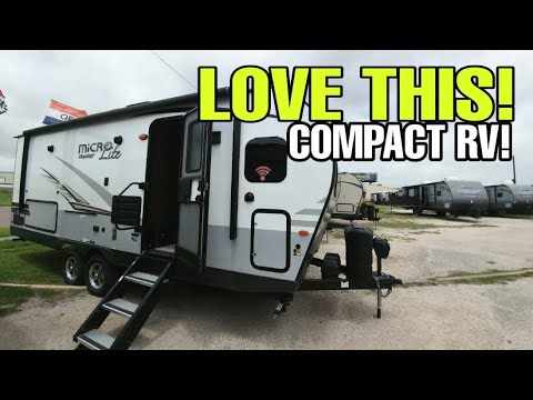TOP CHOICE For Compact Travel Trailer RV!  Flagstaff Micro Lite