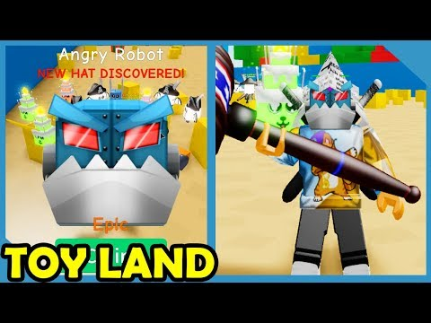 New Update! Toy Land! 80 Million Max Power Hammer! - Roblox Unboxing Simulator