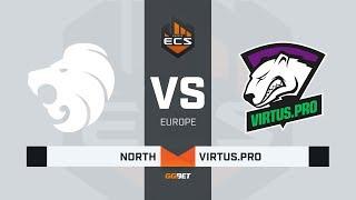 North vs Virtus.pro, map 3 mirage, ECS Season 7 Europe