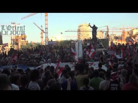 Les Libanais crient leur ras-le-bol de la classe politique
