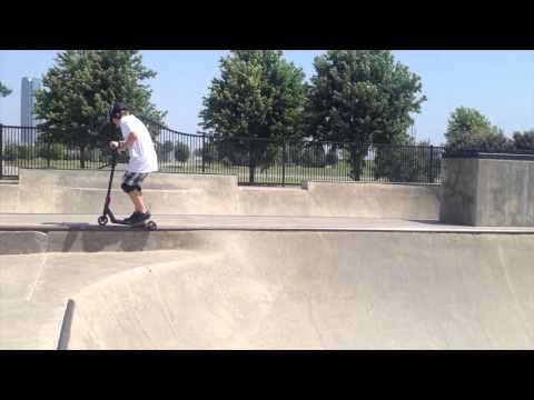 Hoffman Action Sports Park Scooter Session 2014