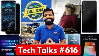 Download Video Tech Talks #616 - Nokia 5.1, Moto One Power, 100Gbps Broadband, Samsung 4 Cameras, Google Pixel 3 MP3 3GP MP4