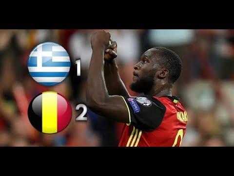 Greece vs Belgium 1-2 All Goals & Highlight (World Cup qualifying) 04-09-2017