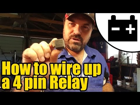 #1922 - How to wire up a relay