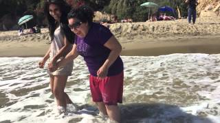 Kimberly Moore takes 15 year old autistic girl to visit the ocean for the first time!