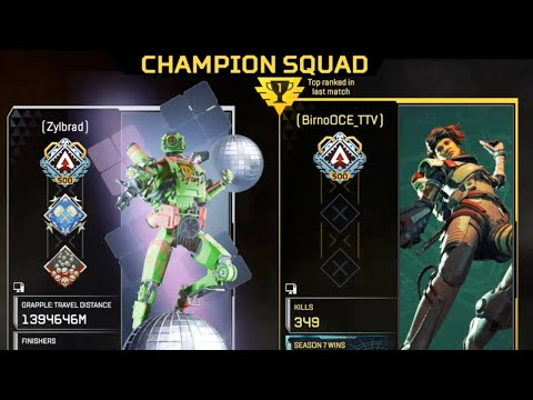 It finally happened.. Zylbrad Vs Zeus! (Apex Season 8)