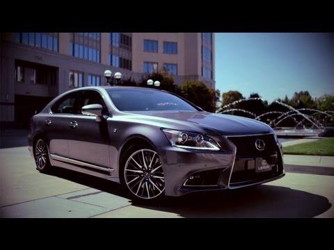 Lexus LS Тест-драйв Lexus LS F-Sport 2013 // АвтоВести 75