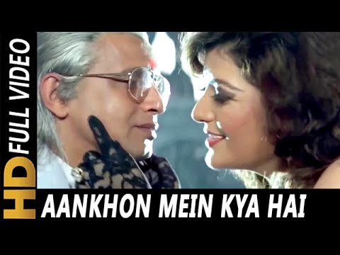 Aankhon Mein Kya Hai Tera Nasha Hai | Vinod Rathod, Sapna Mukherjee | Jallaad 1995 HD Song | Mithun