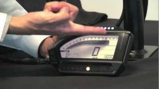 5. Dashboard Demo Honda CBR1000RR Fireblade 2012