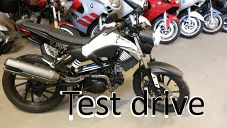 9. Test drive of Kymco K-Pipe 125