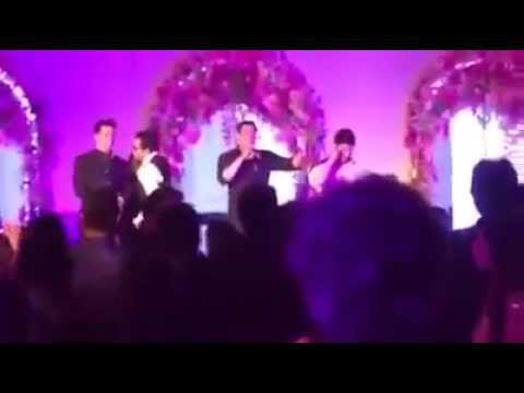 Salman Khan Tease Katrina Kaif at Arpita Khan's Wedding