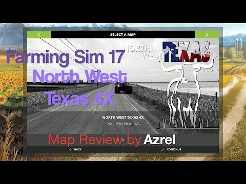 Farming Simulator 17 - Map Walkthrough - North West Texas