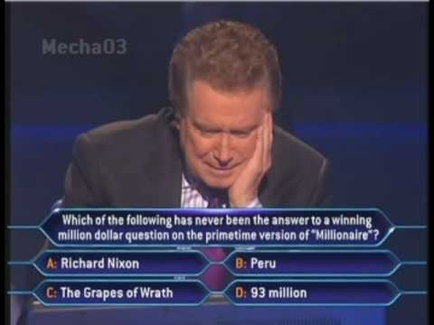 Regis Philbin - For the first time ever, Regis plays one question in the hot seat for charity. Meredith Vieira surprised everyone by telling Regis that he would be the celeb...