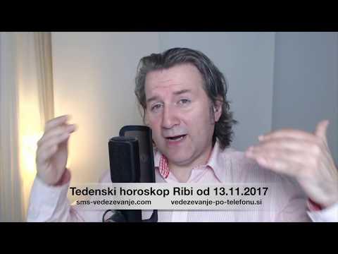 Теденски хороскоп Риби од 13.11.2017