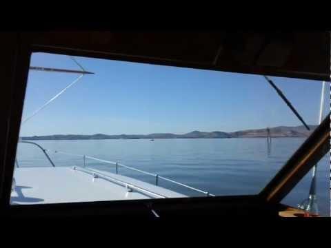 Cruising Suisun Bay in Fall