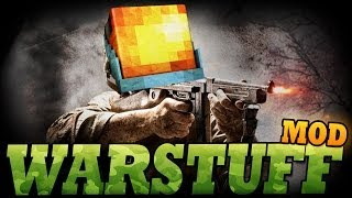 Minecraft Mod | WARSTUFF MOD - INSTANT Builds, Camouflage, and More! - Mod Showcase
