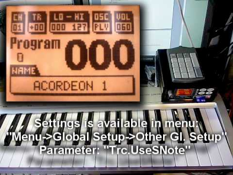 TERCA - Juzisound Total SOLO Sampler:  This video explain all for TERCA module in Juzisound Total SOLO Sampler.