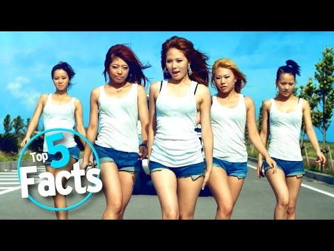 Top 5 K-Pop Facts_Zene vide�k