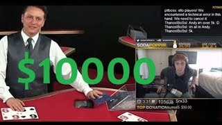 SODAPOPPIN RISKY BLACKJACK BETS (INSANE WINS AND LOSES)