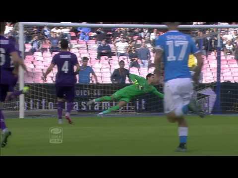 napoli vs fiorentina 2-1 - goal lorenzo insigne