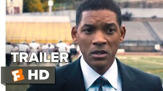 Concussion Official Trailer #1 (2015) - Will Smith, Adewale Akinnuoye-Agbaje Drama Movie HD
