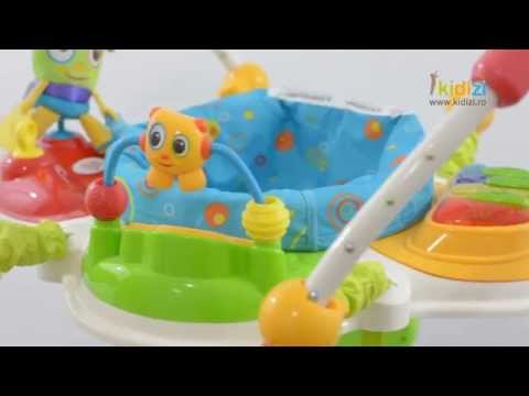 Prezentare video Bright Starts jumper Cute Critters