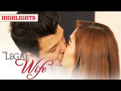 Adrian, hindi napigilan na halikan si Nicole | The Legal Wife