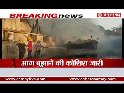 Major fire in paint factory in Ahmedabad