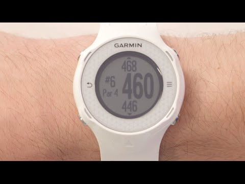 Garmin Approach S4 - Understanding Hole Information
