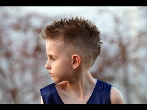 HOW TO CUT A Boy's Mohawk / Fohawk Hair CUT Tutorial Fauxhawk