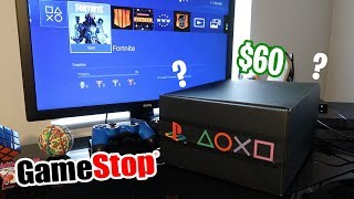 So I bought a Playstation mystery box from Gamestop... What's inside? ($$$)