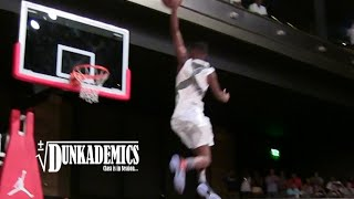 SICK Free Throw Line Dunk by High Schooler Shelby McEwen - YouTube
