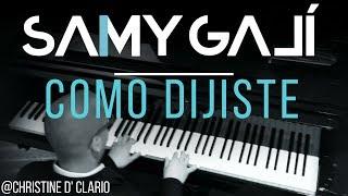 Christine D' Clario Como Dijiste (Solo Piano Cover) By Galí [Musica Instrumental Cristiana]