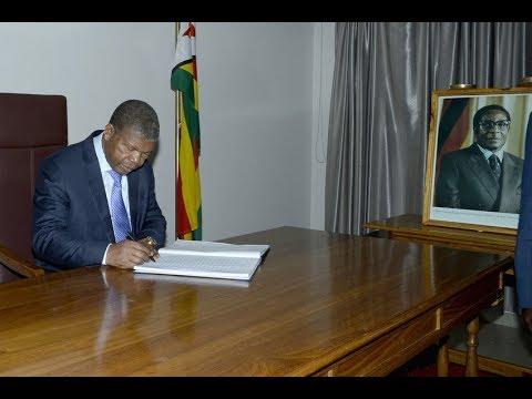 Presidente João Lourenço considera Mugabe uma figura de destaque