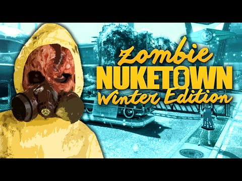 NUKETOWN WINTER ZOMBIES (Part 2) ★ Call of Duty Zombies Mod (Zombie Games)
