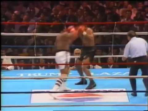 Mike Tyson vs Michael Spinks-1st round
