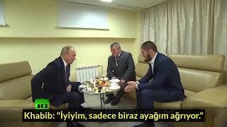 Video (TÜRKÇE) İşte Çok Beklenen Putin ve Khabib Buluşması! MP3, 3GP, MP4, WEBM, AVI, FLV Maret 2019