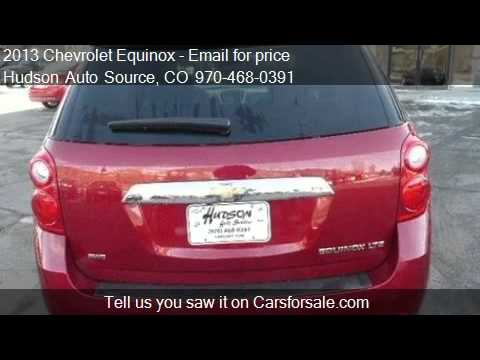2013 Chevrolet Equinox LTZ AWD - For Sale In Silverthorne, C