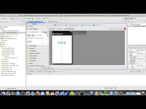 Android Development Course - Chapter 3 - HelloWorld