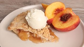 Peach Crumble Pie | Episode 1093 by Laura in the Kitchen