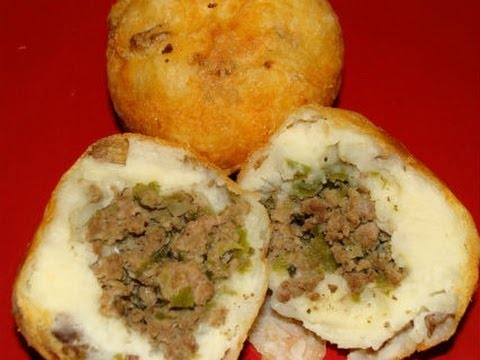 Rellenos de Papa Recipe - Puerto Rican Stuffed Potatoes