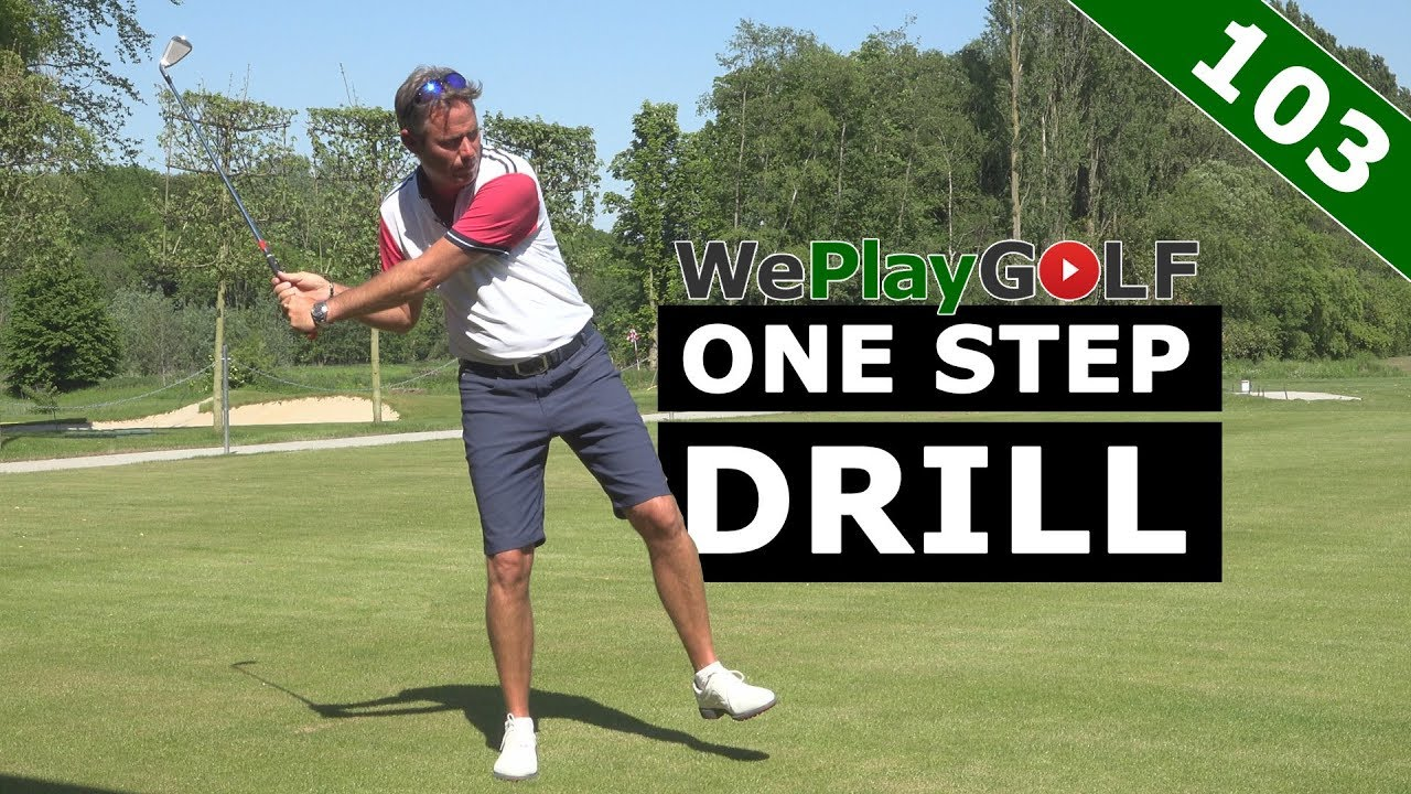 Improve your Golf Swing with the One Step drill