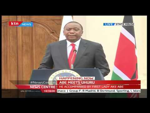 TICAD Conference: President Uhuru Kenyatta's [FULL SPEECH] during Japan PM visit to Kenya