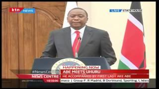 KTN News Centre: President Uhuru Kenyatta's [FULL SPEECH] during Japan PM visit to Kenya