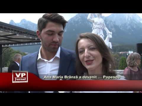 Ana Maria Brânză a devenit… Popescu