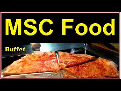MSC Seaside Food - Is it like this Preziosa Buffet: Breakfast, Lunch, Tea Time, Dinner?