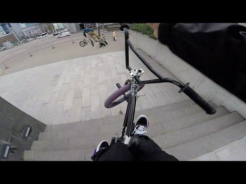 GoPro BMX Bike Riding in Tallinn, Estonia (видео)