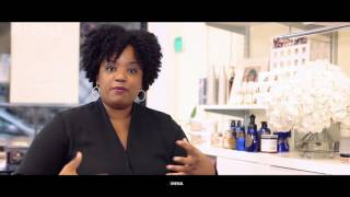 Tami C.'s tip for creating the best blow dry on natural hair