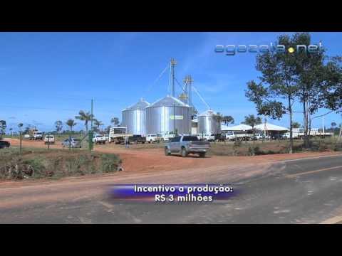 Inauguração Silo Graneleiro em Capixaba 11 04 2013